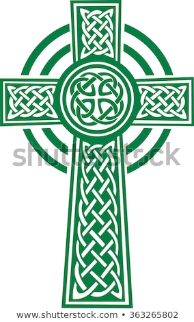 green Celtic cross  Stock photo © mayboro