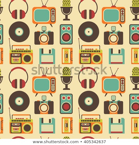 Estéreo alto-falante caixa alto-falante discoteca Foto stock © barsrsind