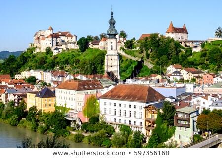 View of Burghausen, Germany Stock photo © borisb17