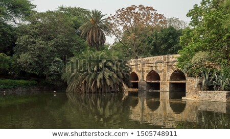Lodi Gardens. Delhi, India Stock photo © dmitry_rukhlenko