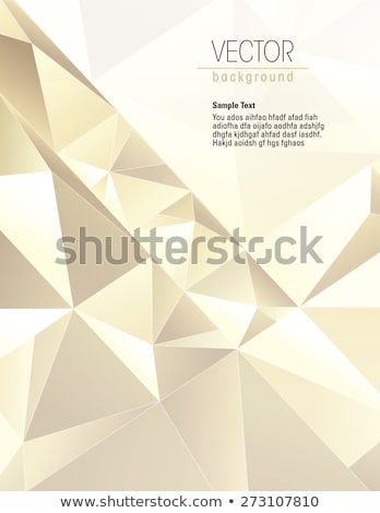 yellow diamond rendered with soft shadows stock photo © oneo