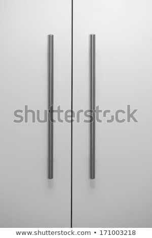 гардероб серебро мягкой свет дизайна мебель Сток-фото © Ansonstock