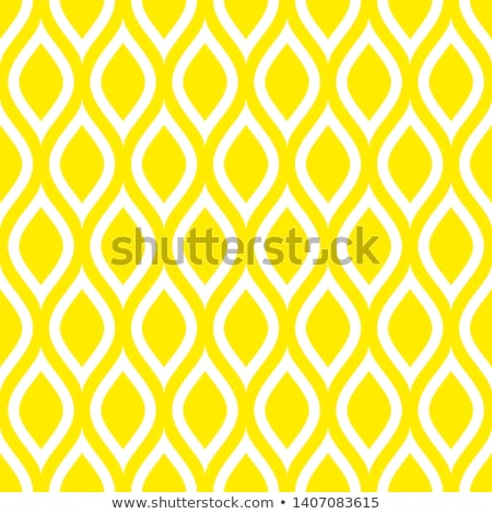 lemon slices vector retro background or pattern   yellow white stock photo © lordalea