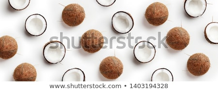 Coconuts background  stock photo © sasilsolutions