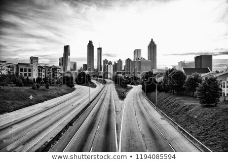 view from above, Atlanta, Georgia, USA Stock photo © phbcz
