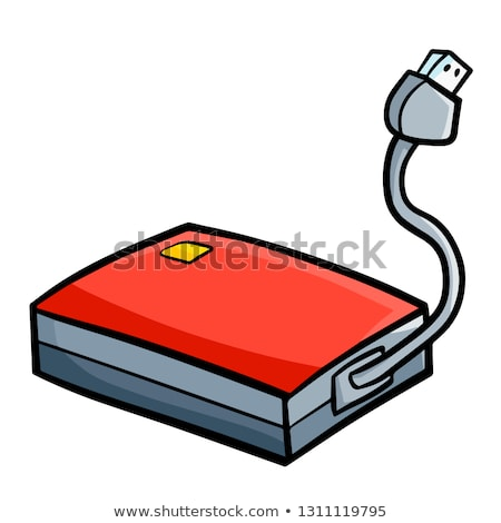 Stock photo: Portable Harddisk