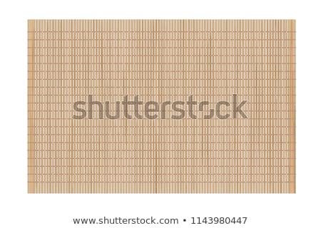 Bambù pezzo string texture legno asian Foto d'archivio © Aliftin