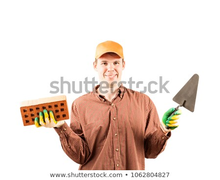 Portrait of a frowning tradesman Stock photo © photography33