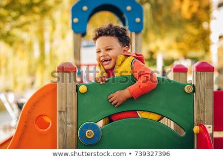 公園 遊び場 子 再生 子供 ストックフォト © jeremywhat