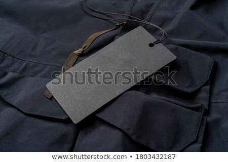 Black price tag stock photo © broker