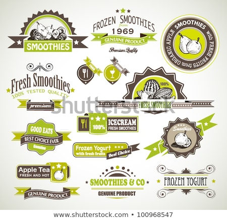 Premium quality collection of Fruits Smoothies Stock photo © DavidArts