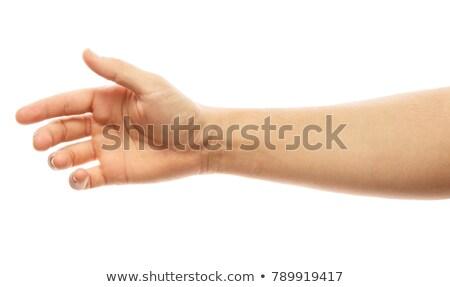 стороны · багет · рук · человека · разделение · продовольствие - Сток-фото © stevanovicigor