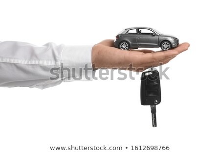 Alarm and model of car Stock photo © a2bb5s