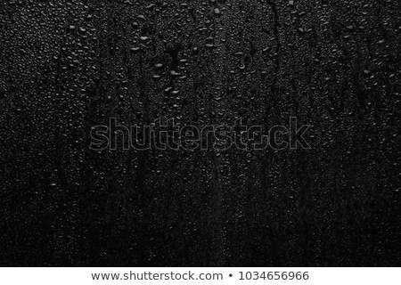 небольшой · капли · воды · большой · зеленый · стекла · аннотация - Сток-фото © toaster