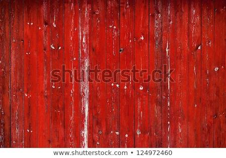 Piros festett fa absztrakt kép üzlet Stock fotó © gregory21