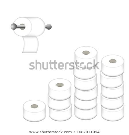 Aluminum tissue holder Stock photo © JohnKasawa