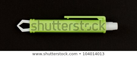 used green plastic forceps for pets to remove ticks stock photo © michaklootwijk