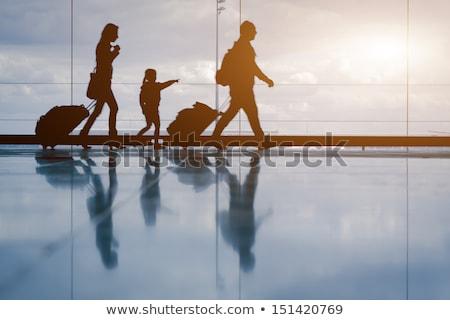 travelers in transit Stock photo © mtkang