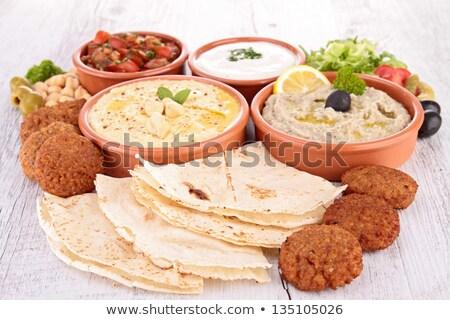 arab · étel · ürü · rizs · közel-keleti · konyha - stock fotó © m-studio