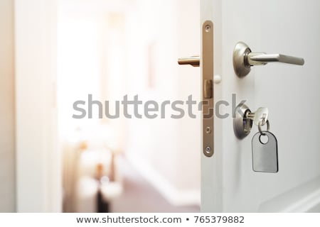 Hand on Door Key stock photo © eldadcarin