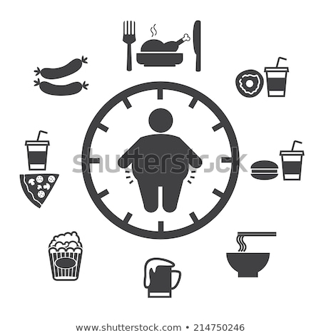 Donut Weight Gain Stock photo © cteconsulting