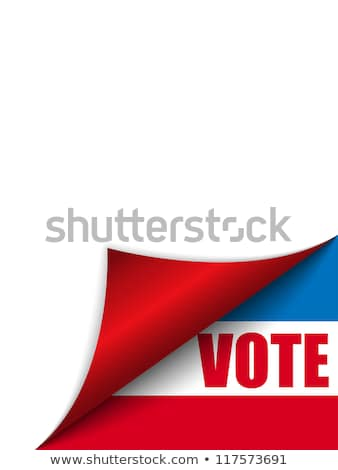 vote united states of america page corner stock photo © gubh83
