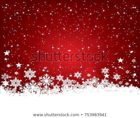 Stok fotoğraf: Kırmızı · Noel · eps · 10 · vektör · dosya
