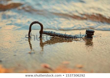 Perdido misterios esqueleto clave arenoso suelo Foto stock © AlphaBaby