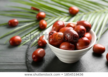 exotic fruits on slate plate Stock photo © Zerbor