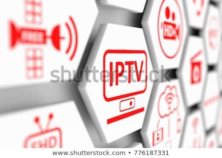 IPTV.  Information Concept. Stock photo © tashatuvango
