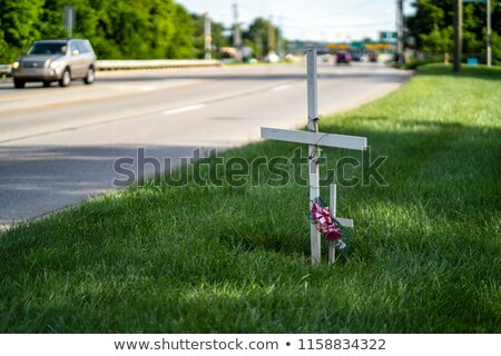 Roadside cross Stock photo © hraska