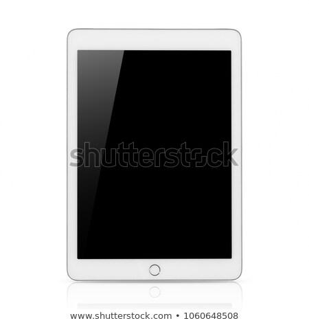 изолированный ipad белый компьютер технологий Сток-фото © Anterovium