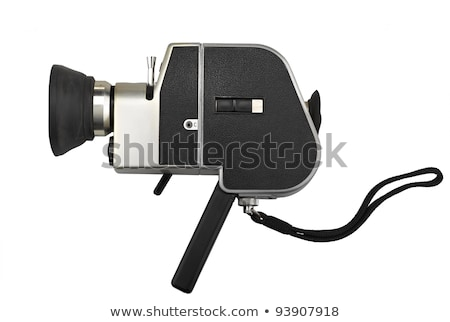 Old 8 mm movie camera Stock photo © gavran333