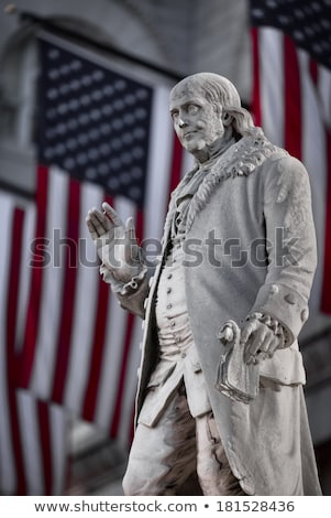 Benjamin Franklin monument Stock photo © hanusst