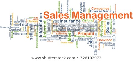 ventes · gestion · croissance · graphique · icône - photo stock © tashatuvango