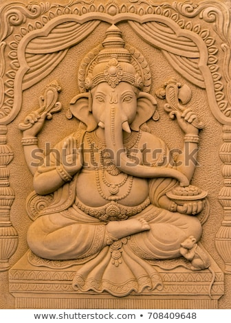 traditional · indian · elefant · tipic · decorare · steag - imagine de stoc © vectorpro