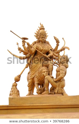 Shrine and statue of Goddess Kali. stock photo © Klodien
