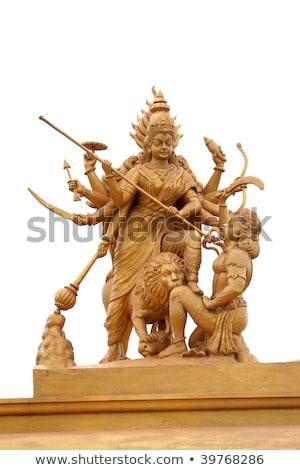 Shrine and statue of Goddess Kali. Stock photo © Klodien