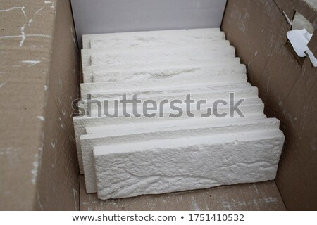 gypsum cardboard cutting  Stock photo © Virgin