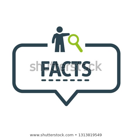 Myths or Facts Concept Stock photo © ivelin