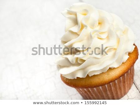 Fancy Vanilla Cupcakes Stock photo © ArenaCreative