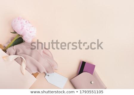Giyim perakende alışveriş cüzdan depolamak görmek Stok fotoğraf © diego_cervo