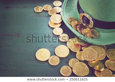 St. Patrick's Day. Pot Of Gold. Stock photo © HelenStock