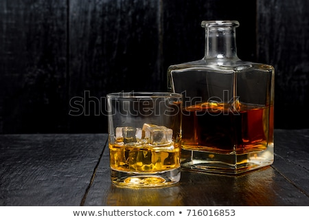 Decanter with whiskey Stock photo © Givaga