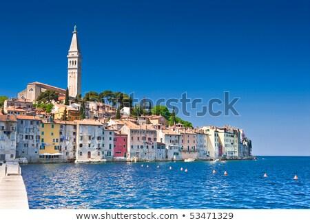 旧市街 · 海 · 海岸 · クロアチア · ヨーロッパ · 水 - ストックフォト © fesus