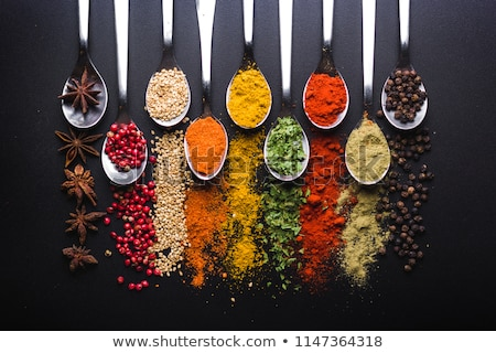 healthy seasoning and spices Stock photo © PixelsAway