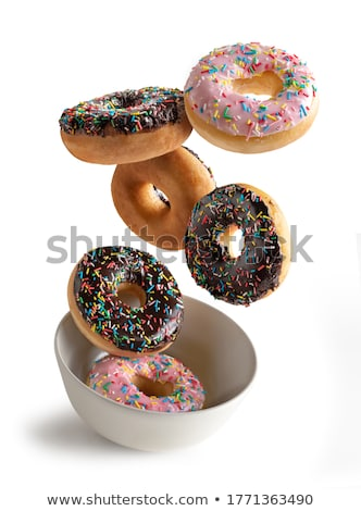Stack of Donuts Stock photo © HASLOO