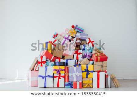 Carrying gifts Stock photo © pressmaster