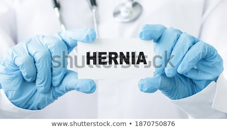 Hernia Diagnosis. Medical Concept.  Stock photo © tashatuvango