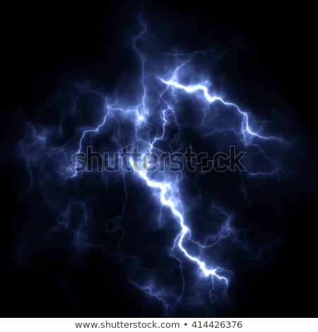 abstract background with storm clouds and lightning  Stock photo © maximmmmum